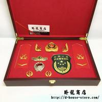 中国人民武装警察 兵士 16式春秋制服用 徽章セット