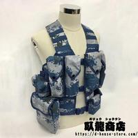【空軍 城市迷彩】中国人民解放軍06式通用単兵携行具  兵士配置セット