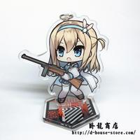 【少女前線】KP31 擬人キャラクター 立てるキーホルダー