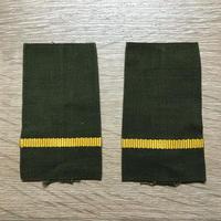 【コレクター商品】中国人民解放軍87式 陸軍 兵士&下士官 筒式肩章(5種類あり)