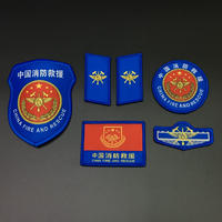 中国人民消防 徽章セット 2019年