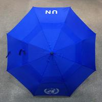 【特大】国連UN傘 八本骨 全長101cm カバー付き