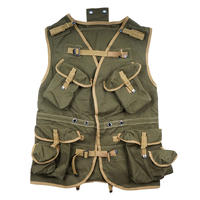 "【WW2米軍】陸軍 突撃ベスト1940's US-ARMY / "" D-DAY "" INVASION VEST 複製品"