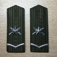 【コレクター商品】中国人民解放軍99式 陸軍士官 制服専用肩章
