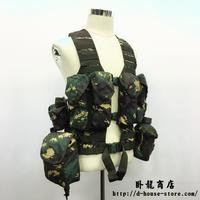 【猟人迷彩ー特種兵】中国人民解放軍06式 通用単兵携行装具 猟人迷彩  兵士配置セット
