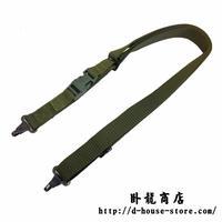 【緑】QBZ-03式 自動歩銃用スリング ナイロン製