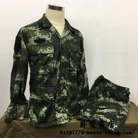 中国人民武装警察16式夏迷彩服上下セット 武警