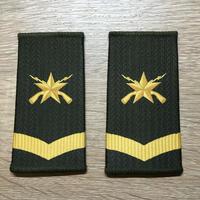 【コレクター商品】中国人民解放軍99式 陸軍 筒式肩章 二級士官