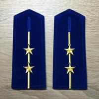 【コレクター商品】中国人民解放軍87式 空軍肩章  中尉