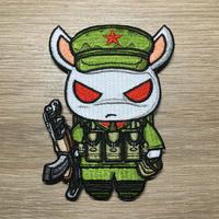 中国人民解放軍 中越装備兎 ウサギ ワッペン