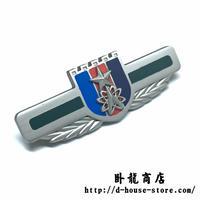 中国人民解放軍 15式 戦略支援部隊 金属製胸章
