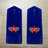 【コレクター商品】中国人民解放軍87式 空軍文職 肩章