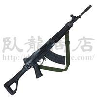 中国人民解放軍 ダミーQBZー03式自動歩銃  訓練用ゴム製 ストック可動