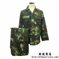 中国人民解放軍07式第二砲兵 火箭軍 迷彩服上下セット 実物保証