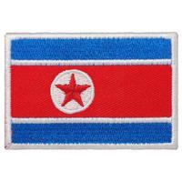 北朝鮮 国旗ワッペン