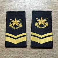 【コレクター商品】中国人民解放軍99式 海軍 筒式肩章 三級士官