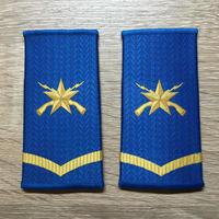 【コレクター商品】中国人民解放軍99式 空軍 筒式肩章 一級士官
