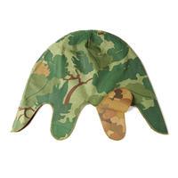 米軍 ミッチェルパターンヘルメットカバー ベトナム戦争ミッチェルカモ迷彩 複製品