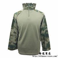 中国人民解放軍 07式林地迷彩柄 コンシャツ