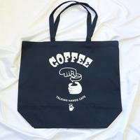 COFFEE TOTE BAG(Navy)