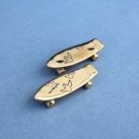 Mark Gonzales / Pika Pika skate board chopstick rest (gold)