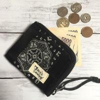 パッチワークコンパクトL字財布