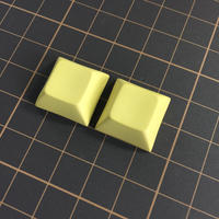 DSA PBT Keycap (2Piece/76Yellow)
