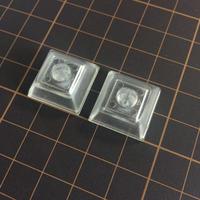 DSA Keycap (2Piece/ Clear Transparent)