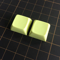 XDA Blank Keycap (2Pieces/Cream Yellow)