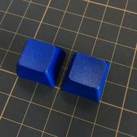 SA PBT ブランク キーキャップ (2Piece/ROW3/ブルー)
