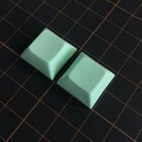 DSA PBT Keycap (2Piece/Light Green)