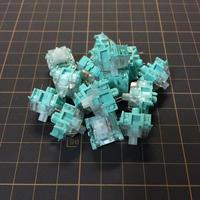 OUTEMU サイレントフォレストキースイッチ(グリーン/5ピン/62g/タクタイル/5個1セット)