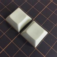 DSA PBT Keycap (2Piece/Beige)