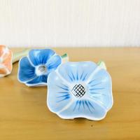 Hackefors/ハッケフオシュ/お花のカトラリーレスト/薄いブルー
