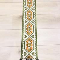タペストリー/北欧刺繍/黒の金具
