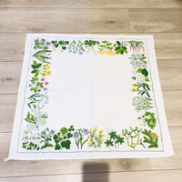 北欧の野の花々のテーブルクロス/木綿100%