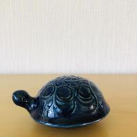 Gustavsberg/グスタフスベリ/Lisa Larson/リサ.ラーソン/Sköldpaddor/カメさん/青