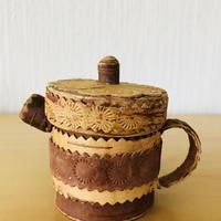 白樺細工/Näver/ネーバー/Kaffekula/コーヒーポット/(小)