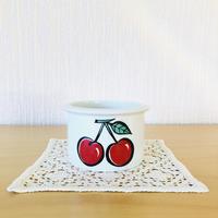 Arabia/アラビア/Pomona/ポモナ(Tutti Frutti)/ジャムポット/Körsbär/さくらんぼ