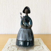 Jie Gantofta/ジィガントフタ/フラワーガール/グレイッシュブルー/19cm