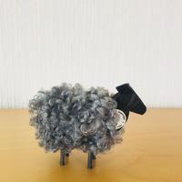 モフモフな羊さん/木製オブジェ