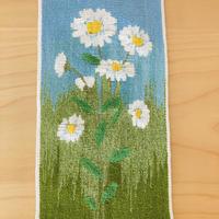 タペストリー/壁飾り/フレミッシュ織/デイジーのお花