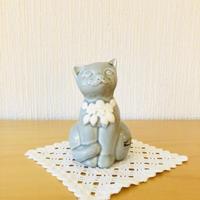 DECO/デコ/Rosa Ljung/ローサ ユング/子猫ちゃん/パステルグレー