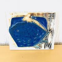 Arabia/アラビア/陶板/カニさん/ミニ