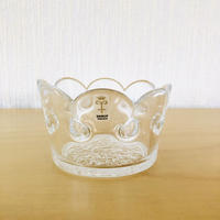 Skruf/スクルフ/クリスタルガラスのキャンドルホルダー/王冠