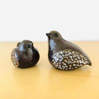 Trosa Keramik/トローサ セラミック/Bengt Wall/ベンツ ウオール/小鳥の親子のオブジェ
