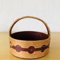 白樺細工/Näver/ネーバー/ハンドル付きカゴ(小)