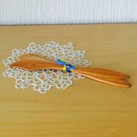 バターナイフ/ロング木製/2本セット