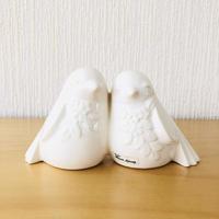 DECO/デコ/Rosa Ljung/ローサ ユング/2羽の小鳥さん/ホワイト
