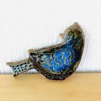 Gabi Citron-Tengborg/ガヴィシトロン-テンボリ/陶板/ブルーの小鳥ちゃん/Nr.1